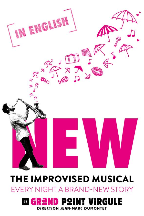 NEW – The Improvised Musical (Spectacle en anglais)